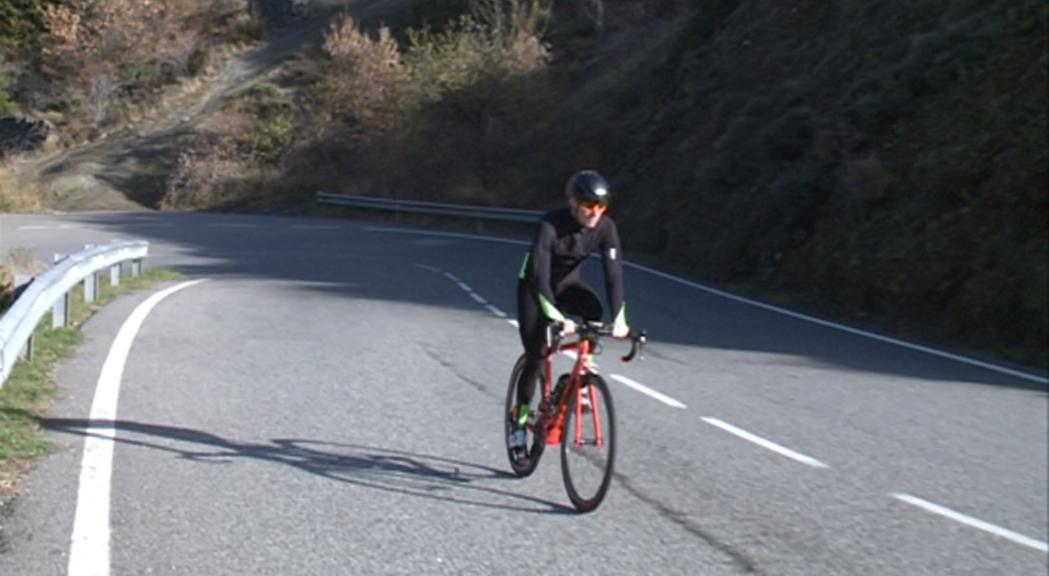 Samu Ponce s'ha estrenat com a ciclista professional a la Challen