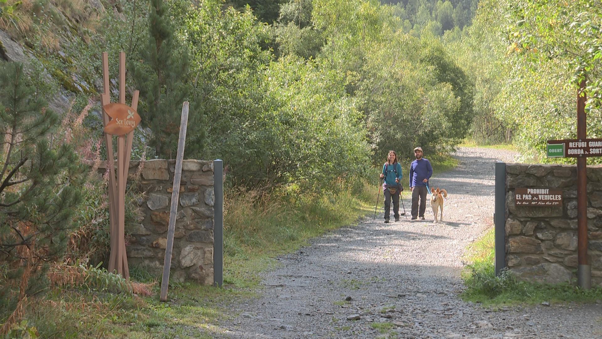 Sanció de 602 euros per accés motoritzat prohibit a la vall de Sorteny