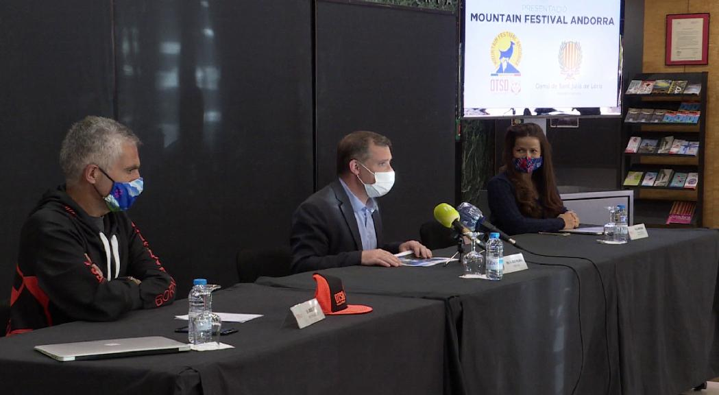 Sant Julià acollirà a l'octubre el Mountain Festival Andorra, un esdeveniment sense precedents centrat en el medi natural