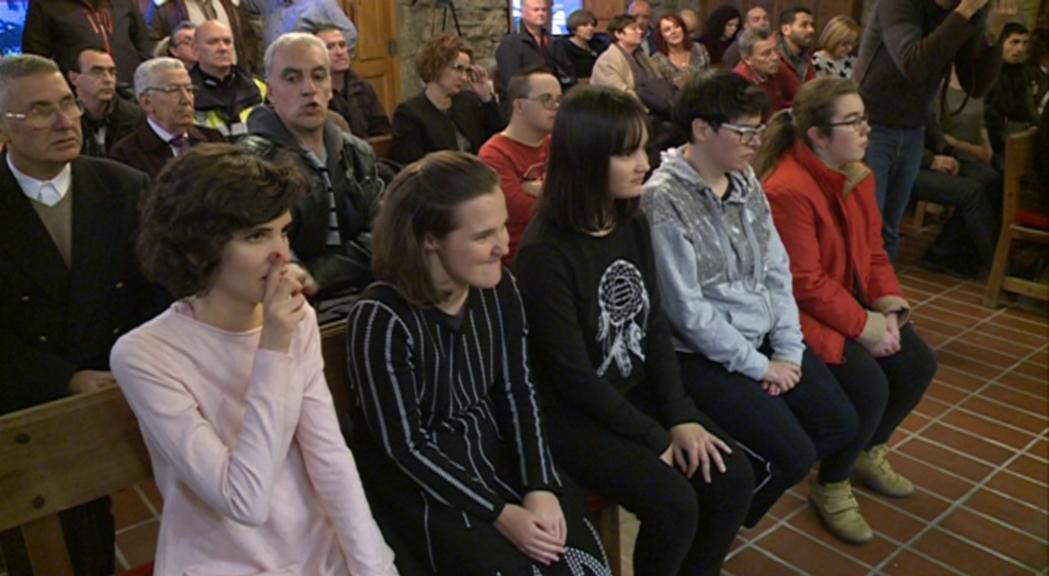 Sant Julià ret homenatge a una part dels participants als Jocs Special Olympics