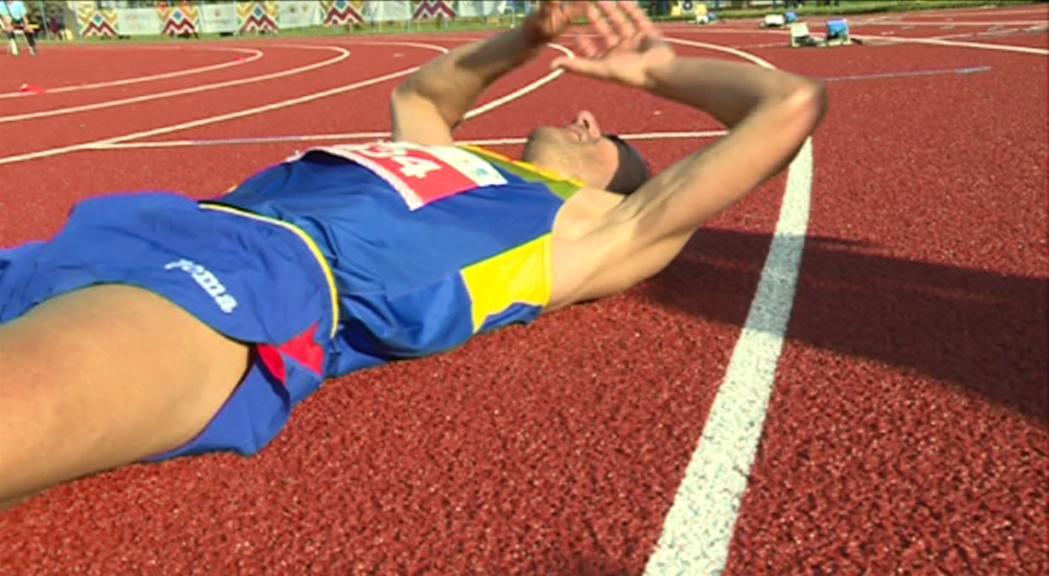 Sanza suma una plata més en atletisme a Montenegro