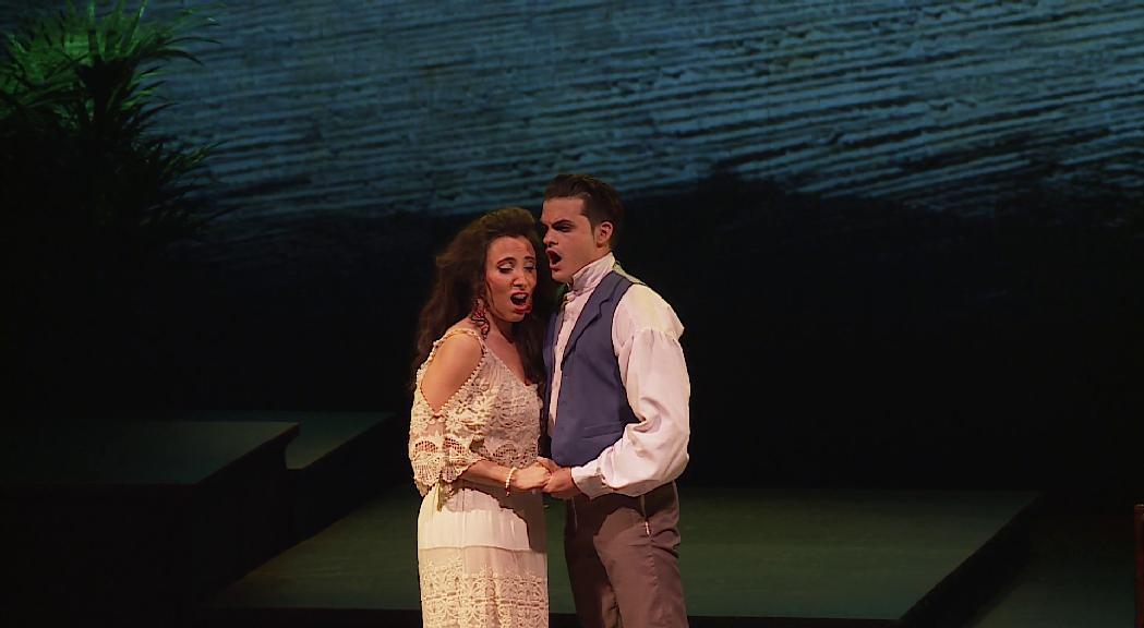 """La sarsuela """"Cecília Valdés"""" arriba a Sant Julià fruit d'una col·laboració amb el Teatre Nacional de Cuba"""