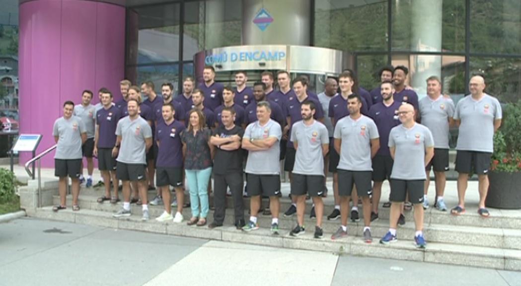 La secció d'hoquei patins del Barça farà una estada a Encamp després del primer equip d'handbol