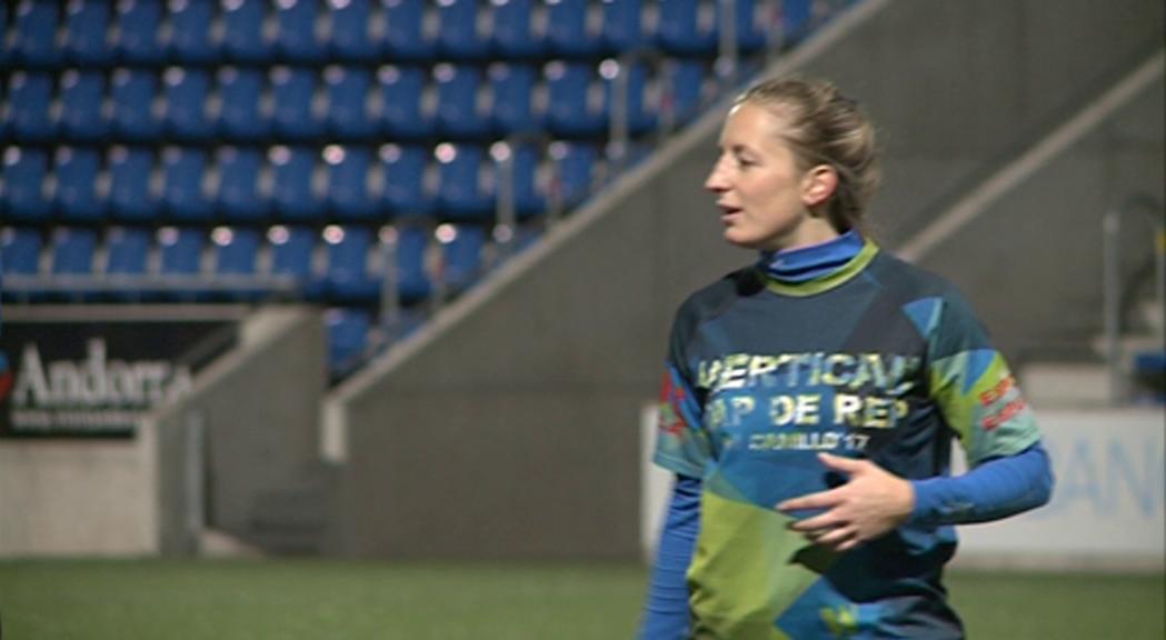 Segona participació de Nàdia Olm en la selecció francesa de rugbi  de XIII
