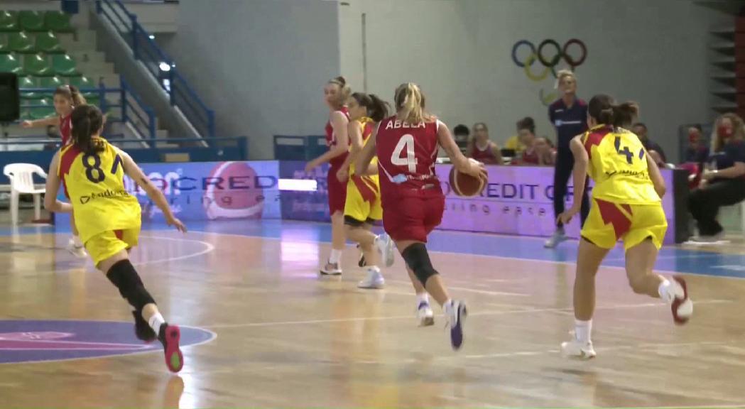 La selecció femenina de bàsquet s'estavella contra Malta a l'Europeu C (30-79)