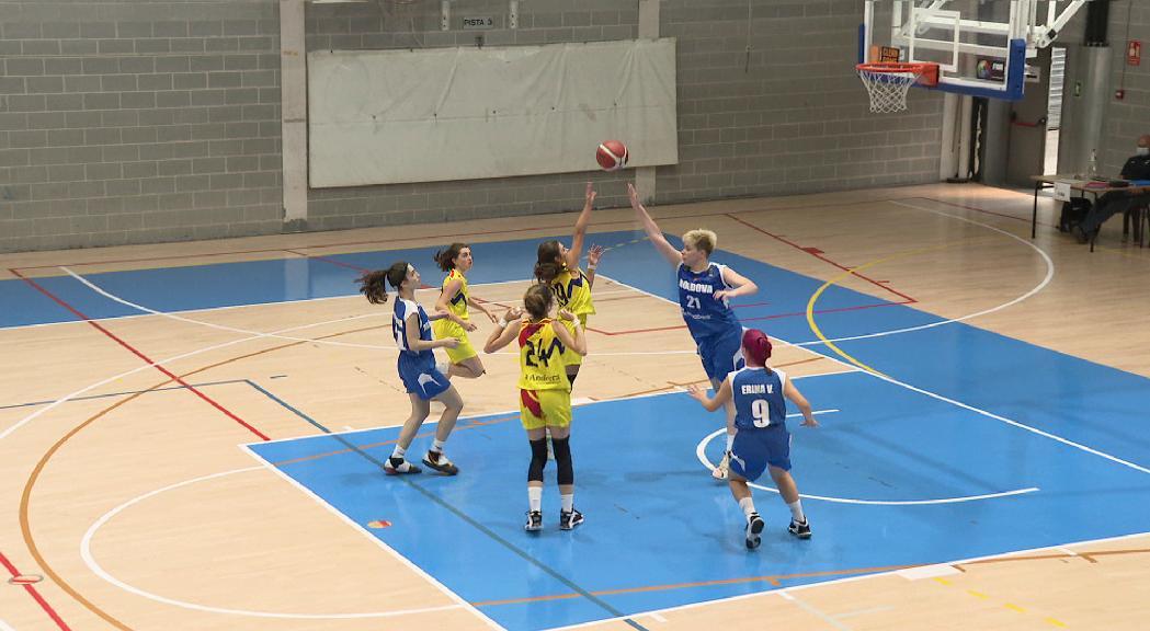 La selecció femenina sub-18 perd contra Moldàvia al segon partit de l'Europeu C