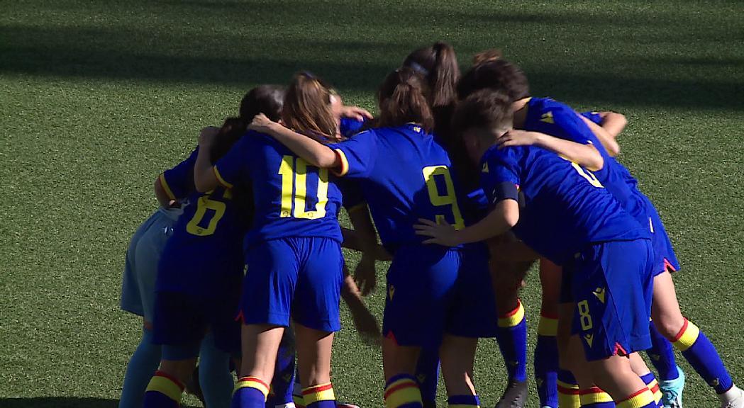 La selecció femenina sub-19 debuta al Preeuropeu amb derrota contra Gal·les (3-0)