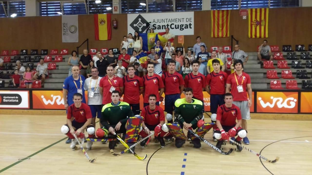 La selecció d'hoquei patins juga aquest divendres les semifinals del Mundial B contra Suïssa