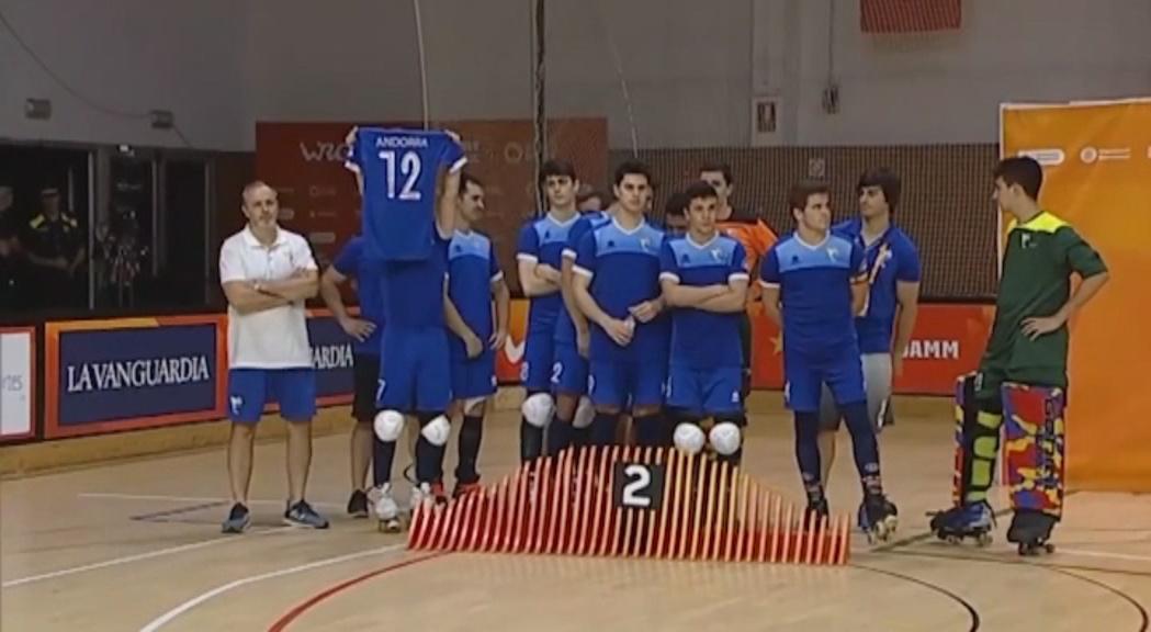 La selecció d'hoquei patins es penja la plata al Mundial B dels World Roller Games després de cedir en la final contra Moçambic (3-4)