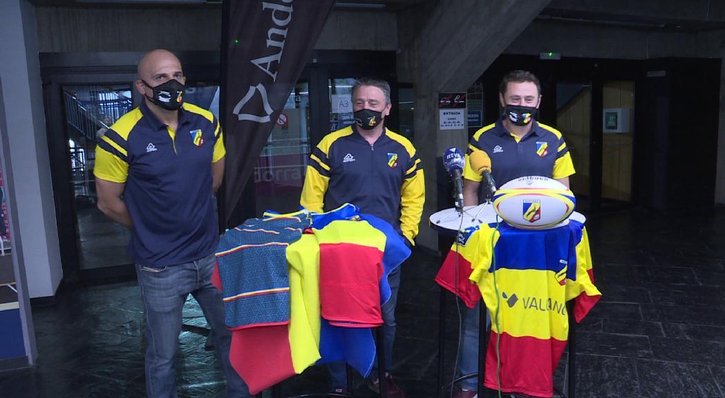 La selecció masculina de rugbi de 7 aspira a estar entre els tres primers a l'Europeu de Belgrad