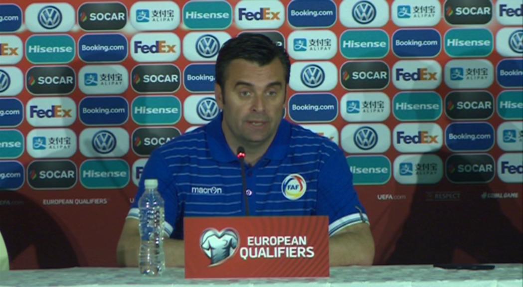 La selecció perd a Moldàvia per la mínima tot i que els locals s'han quedat amb un home menys al minut 47