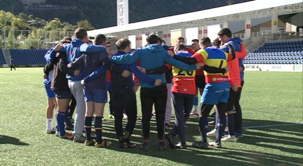 La selecció de rugbi aposta per un nou estil de joc contra Eslovàquia