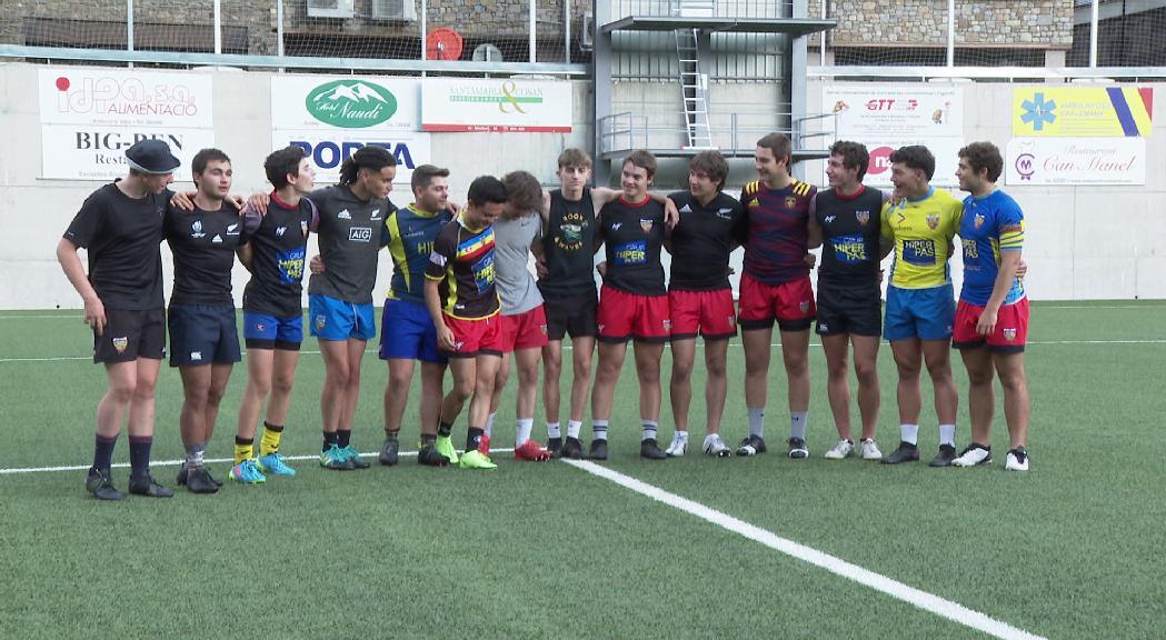 La selecció sub-18 masculinade rugbi de 7 vol ser competitiva a l'Europeu de Riga