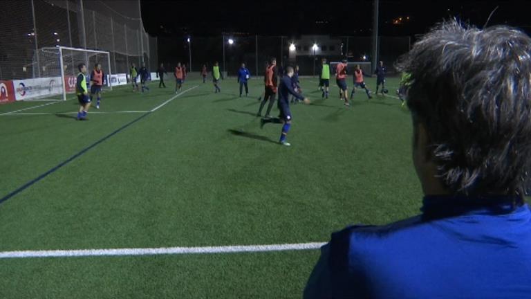 En futbol, la selecció sub-19 va caure davant d'Espany