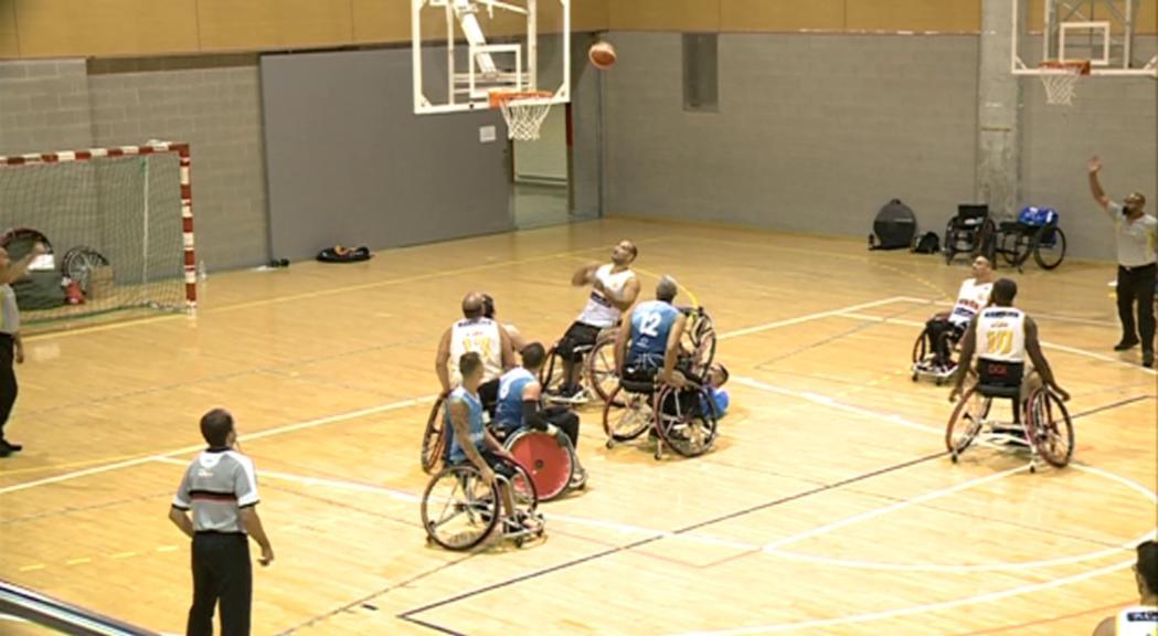 Les seleccions d'Espanya i França de bàsquet adaptat preparen l'Europeu a Ordino