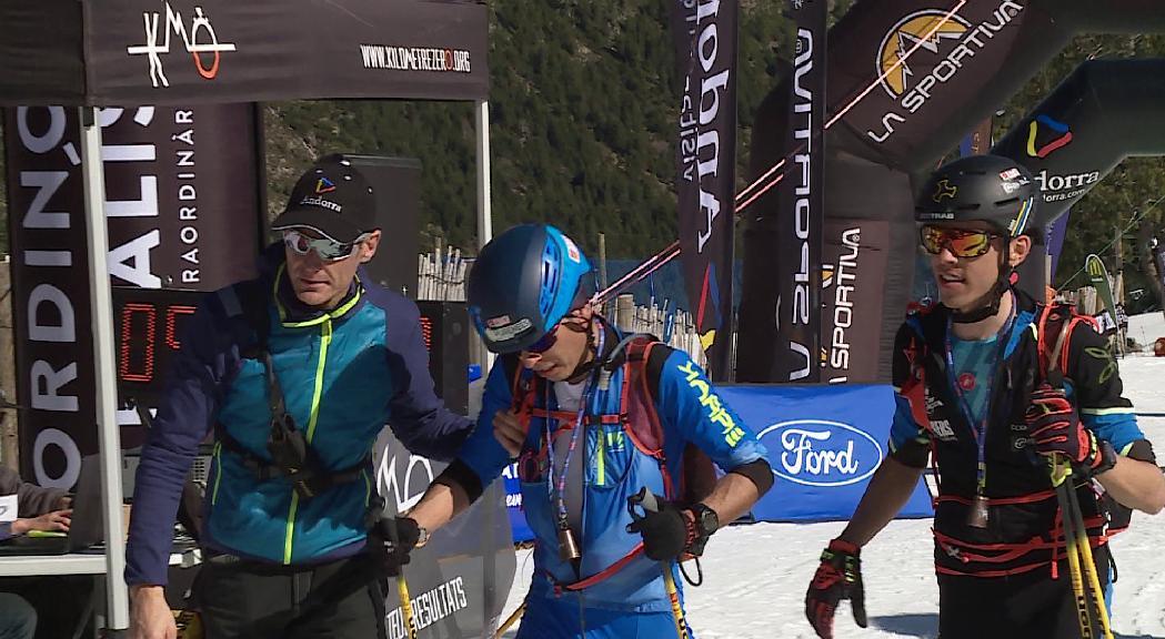 Sergi Casabella i Gerber Martín, els millors a La Sportiva Skimo 4