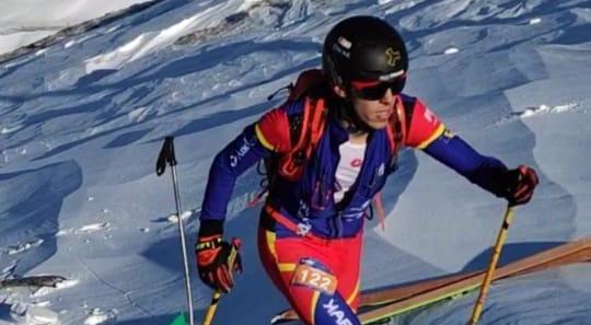 Sergi Casabella i Oriol Olm s'adjudiquen l'espanyol individual d'esquí de muntanya en les seves categories