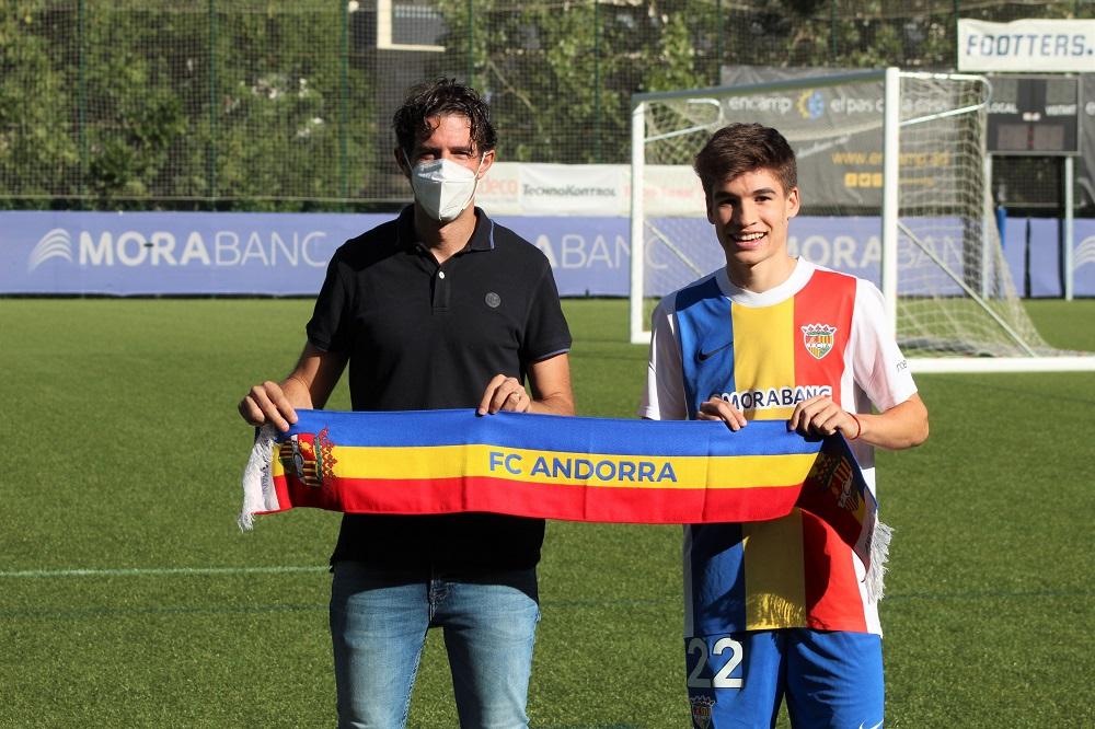Sergi Serrano, sisè fitxatge del FC Andorra