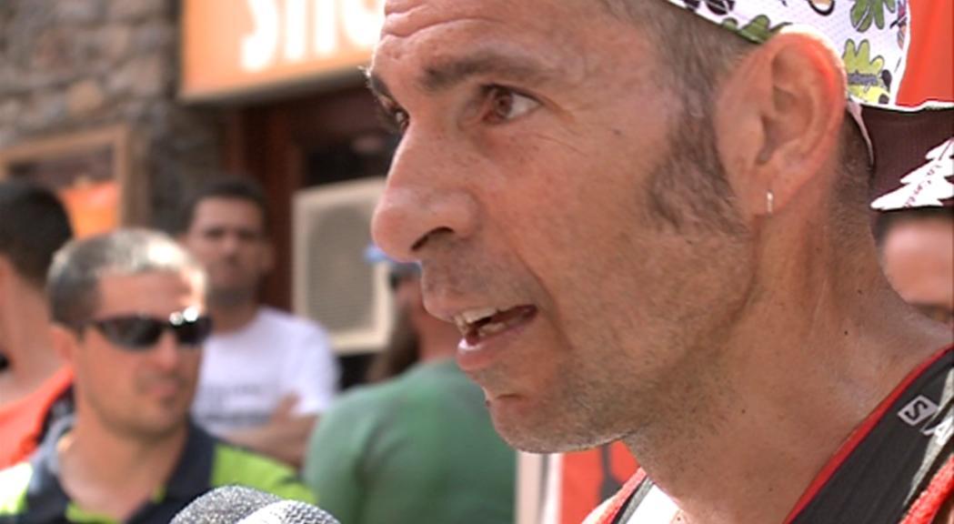 Sergio Luis Tejero i Silvia Trigueros lideren la Ronda dels Cims al pas pel bony de la Pica