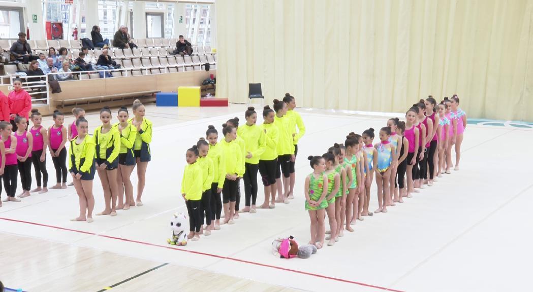 El Serradells i el GAEE, protagonistes de la 2a Fase de la Copa Andorrana de Conjunts de Gimnàstica Rítmica