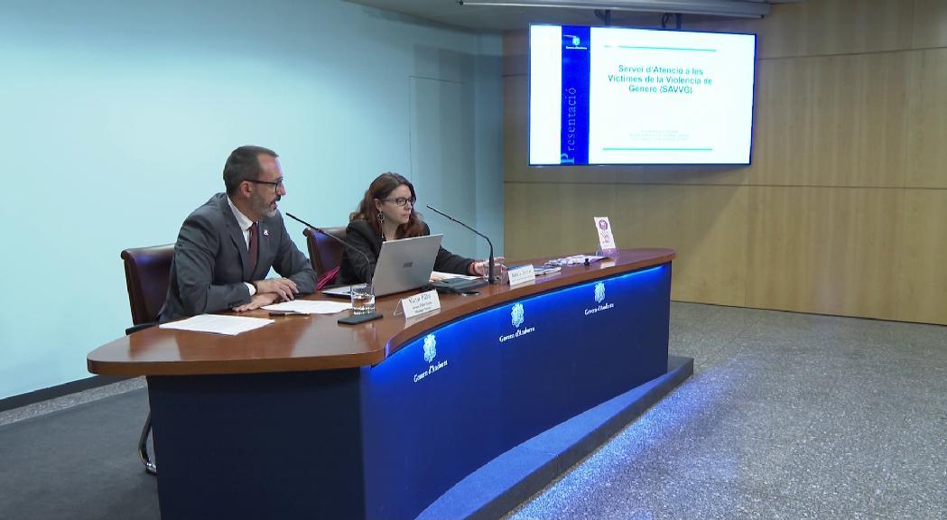 El servei d'Atenció a les Víctimes de Violència de Gènere atén 113 nous casos de prop de 300 en un any