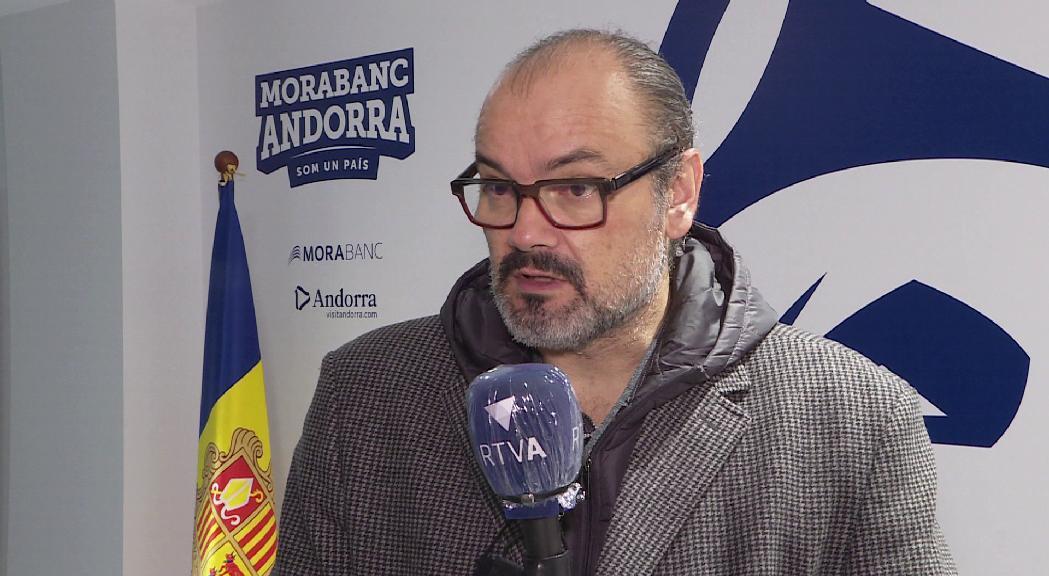"""Solana sobre la nova Eurocup: """" Serà complicat si no quedem entre els 10 primers. Si esportivament hi som, ens ajudaran les últimes tres participacions"""""""