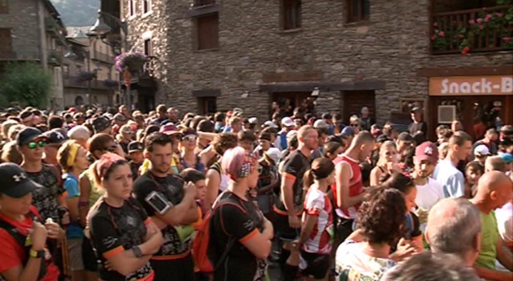 La Solidaritrail,  la cursa amb més participació amb 850 corredors