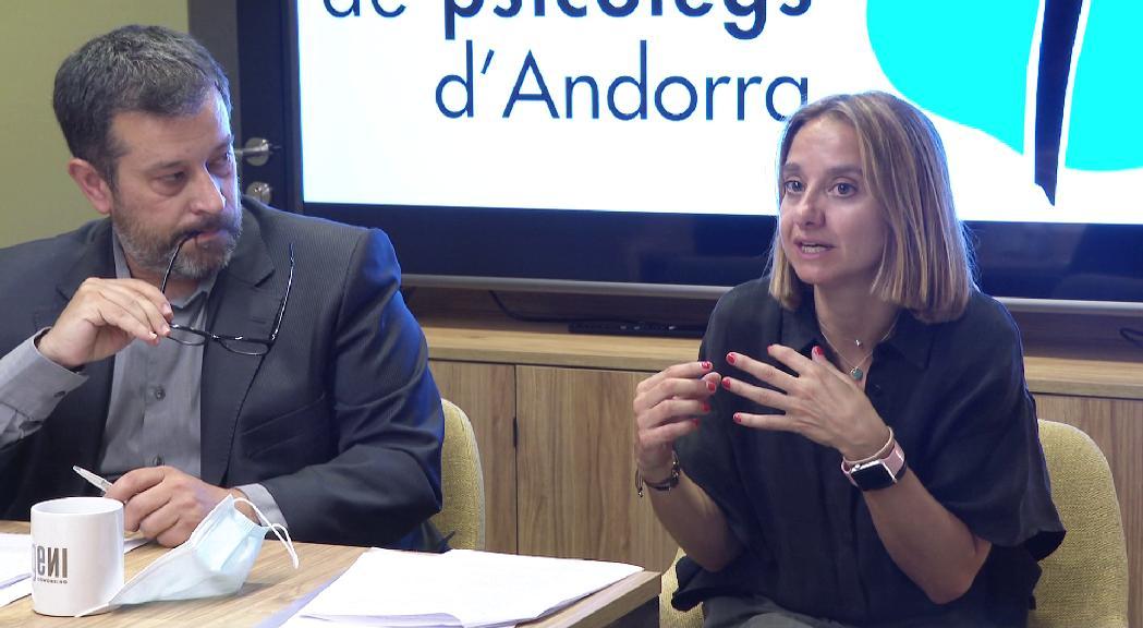 Sònia Bigordà és la nova presidenta del Col·legi de Psicòlegs. Ha