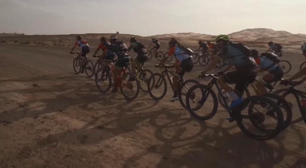 La Titan Desert, exigent competició de BTT per etapes, ha