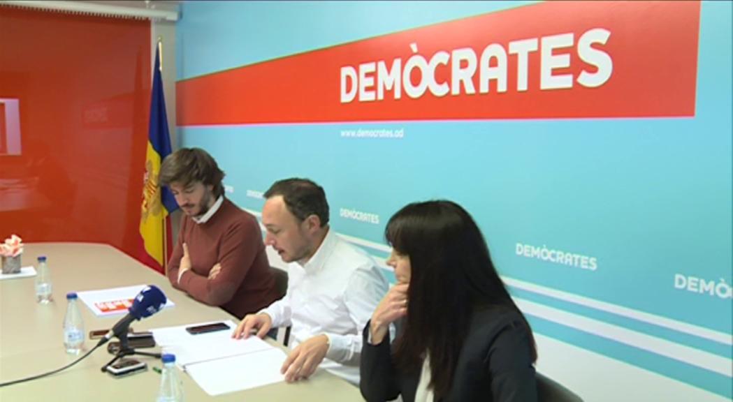 La sostenibilitat serà l'eix del programa electoral de Demòcrates