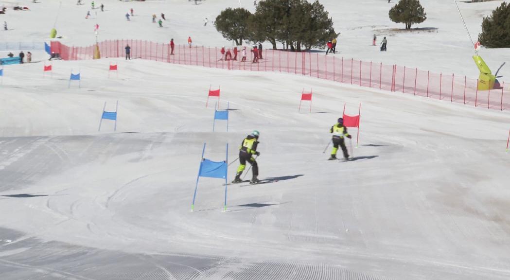 Special Olympics celebra la Copa d'Andorra a la pista Esparver de Grandvalira