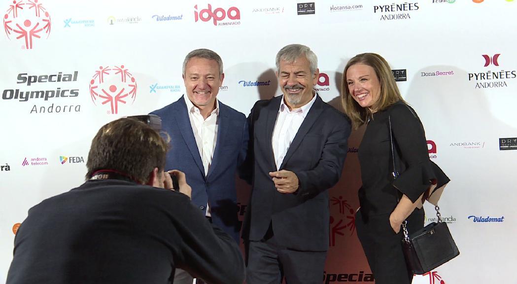Special Olympics recapta 8.000 euros per a la nova secció d'esports d'hivern en un sopar subhasta amb Carlos Sobera