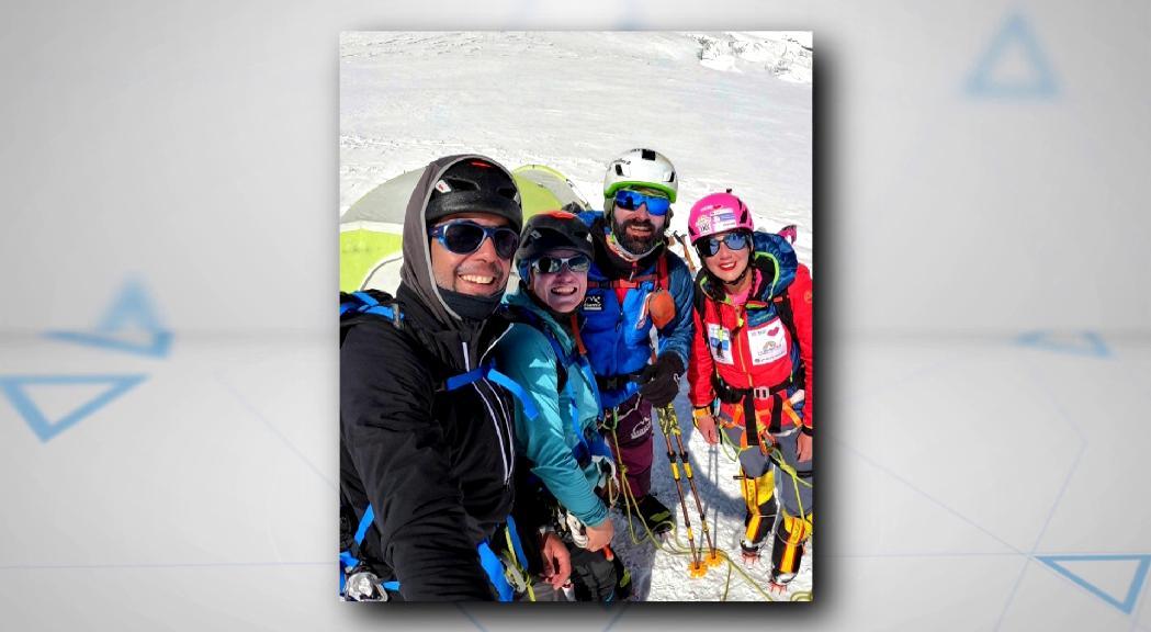 Stefi Troguet i Domi Trastoy, obligats a abandonar l'ascens al Dhaulagiri