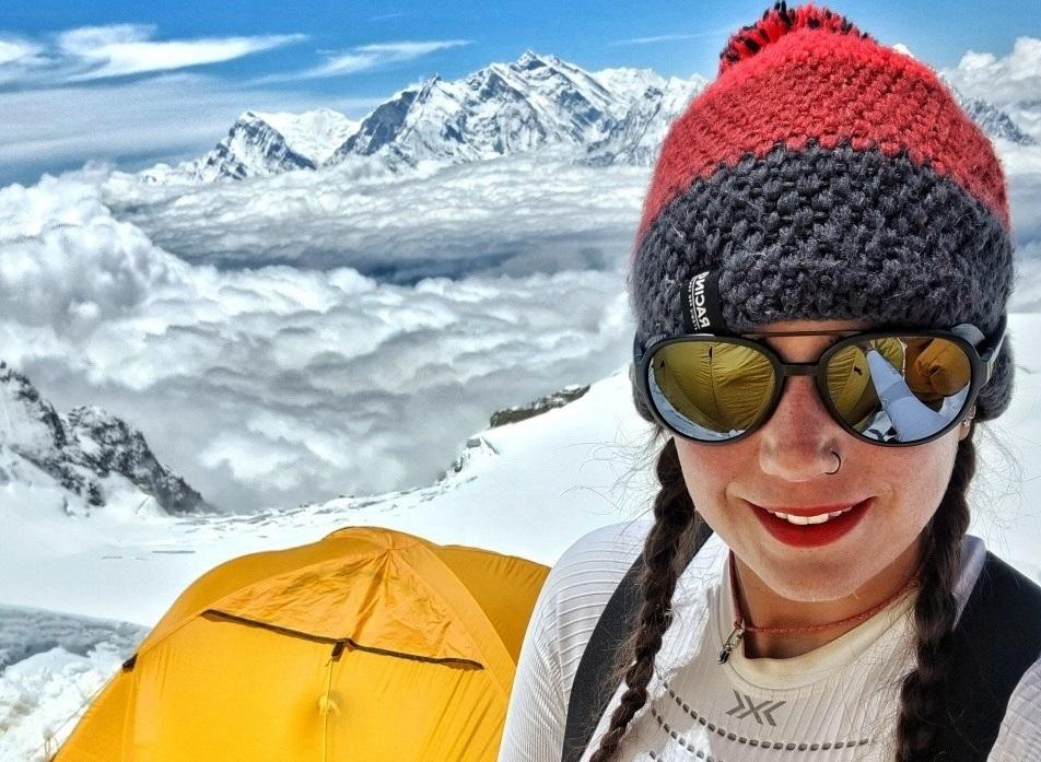 """Stefi Troguet: """"Per fi he aconseguit sortir del camp base del Dhaulagiri"""""""