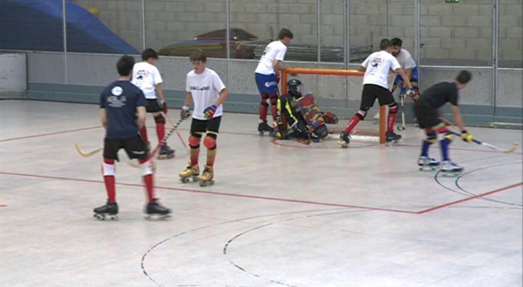La sub-17 d'hoquei patins perd amb Espanya (0-11) i ja pensa en Israel