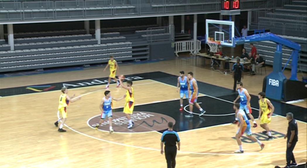 La sub-18 masculina guanya Armènia (81-76) i lluitarà per la 5a plaça a l'Europeu C