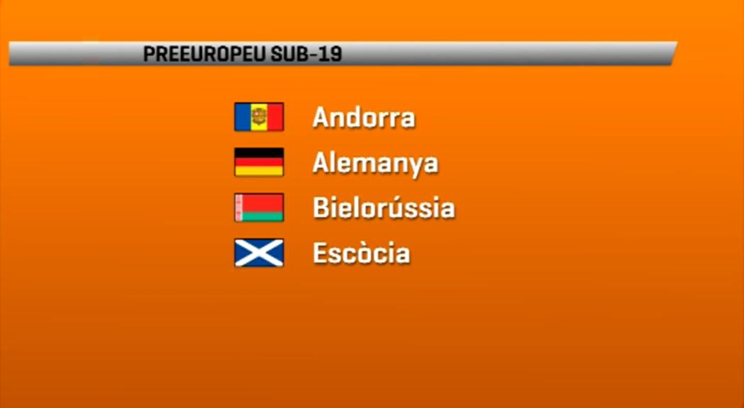 En futbol aquest dijous hem conegut els rivals d'Andorra al Preeu