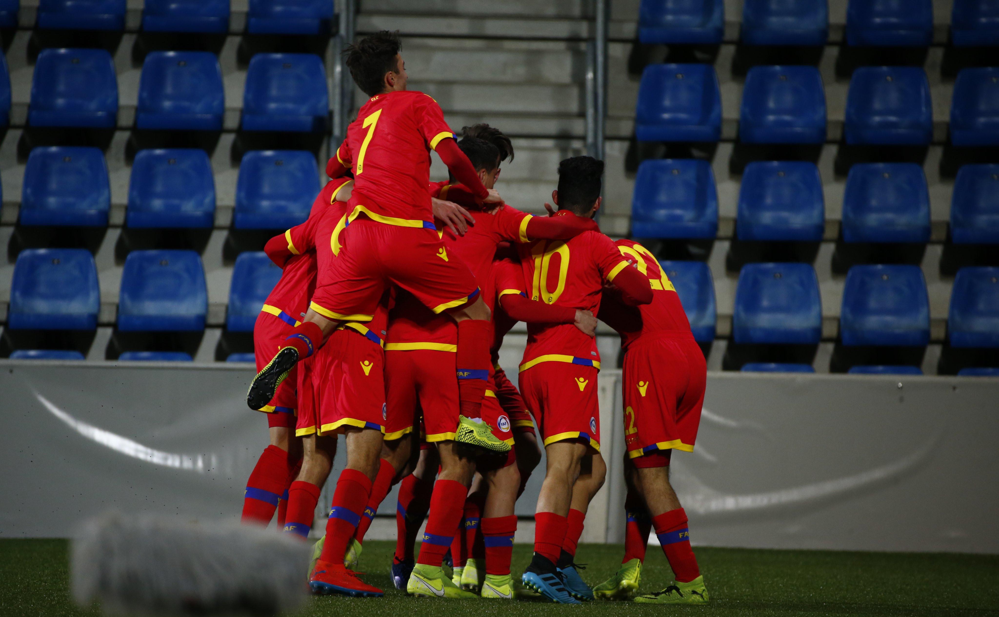 La sub-21 tanca una setmana històrica per al futbol andorrà contra Turquia (2-0)