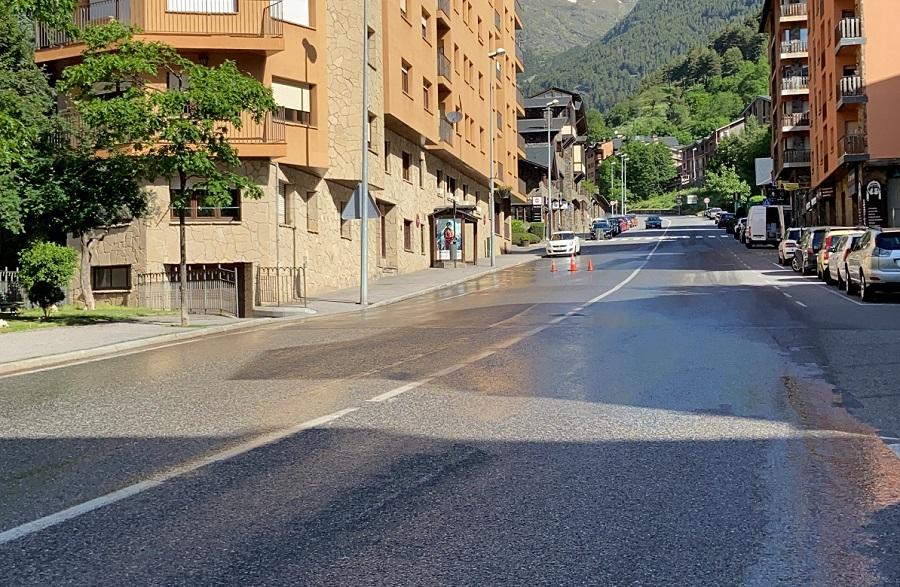 Tall d'aigua a tota la parròquia de la Massana per reparar una avaria dimecres de 22 h a les 6 de la matinada
