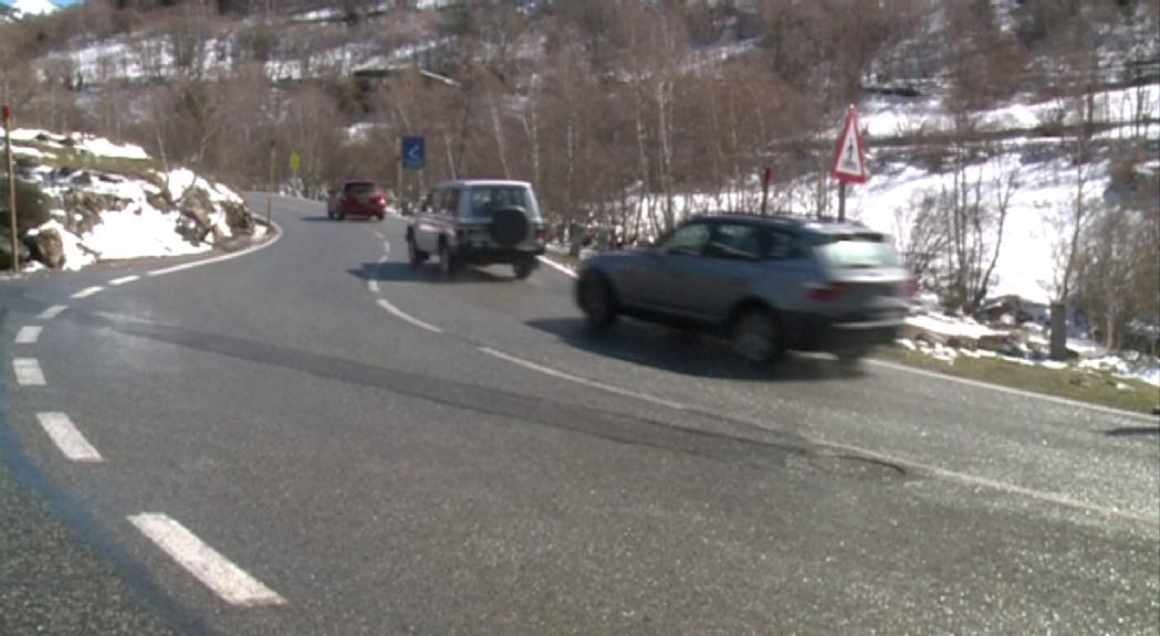 Es tanquen els accessos a Arcalís i Sorteny per evitar l'afluència