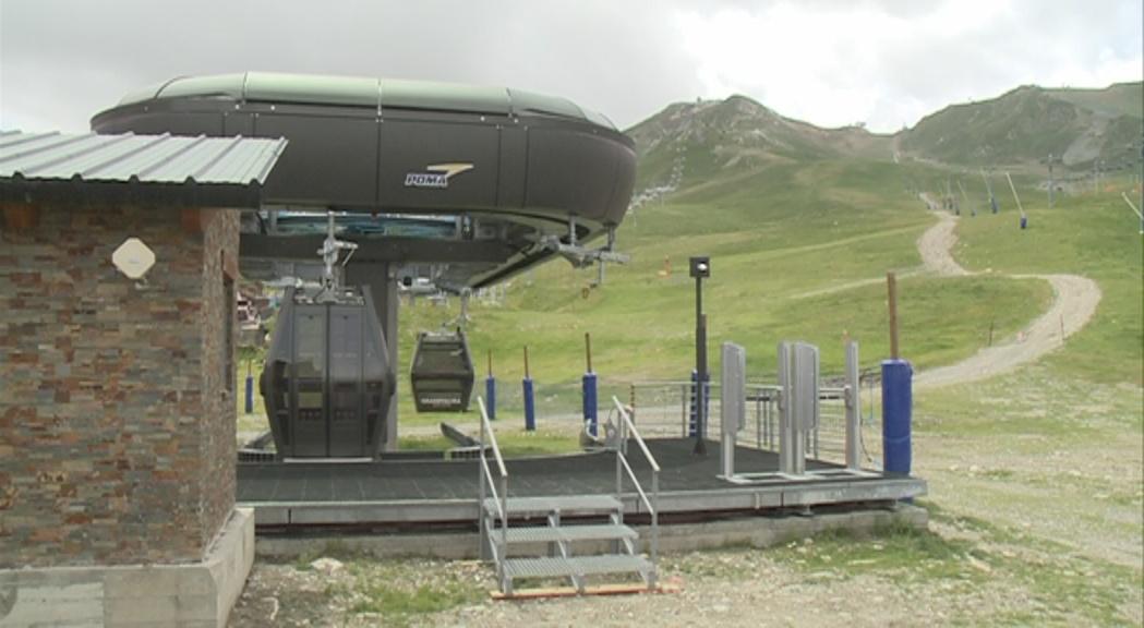 Els telecabines dels pioners i del Coll dels Isards estaran oberts durant la temporada d'estiu