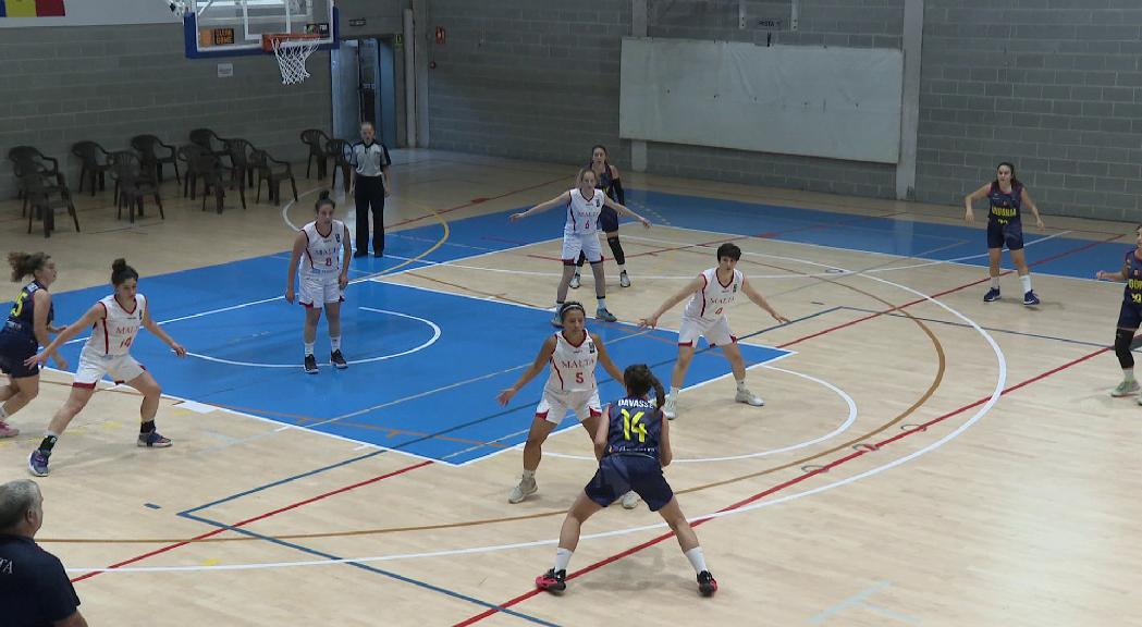 Tercera derrota de la selecció femenina de bàsquet sub-18 contra Malta