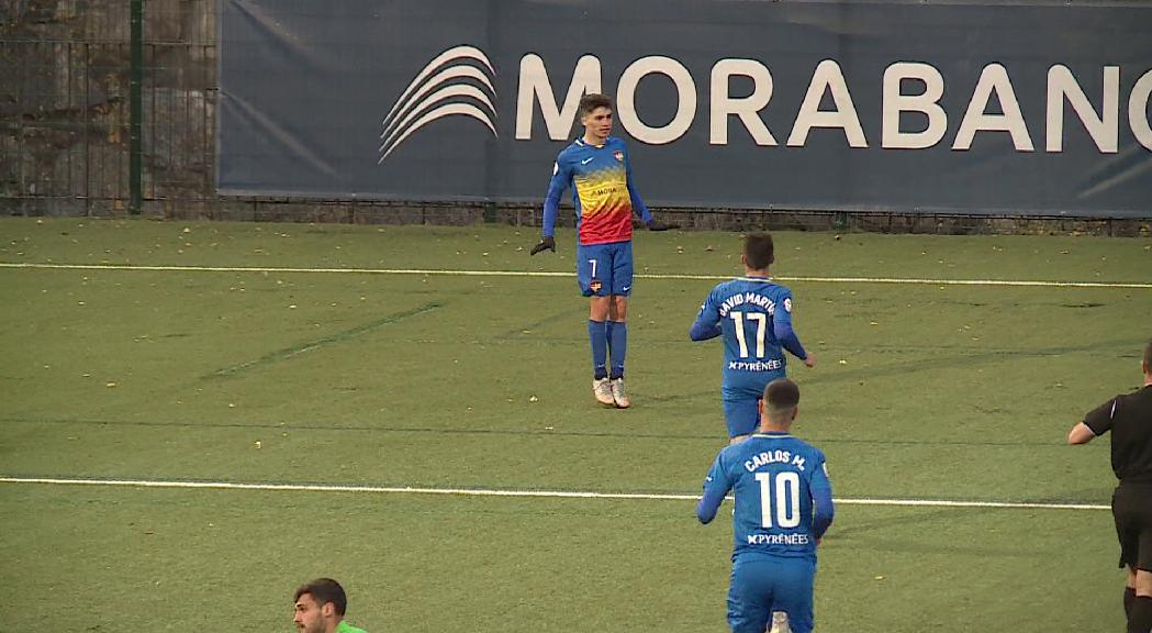 Tercera oportunitat consecutiva de l'Andorra per ser líder en la visita a Olot