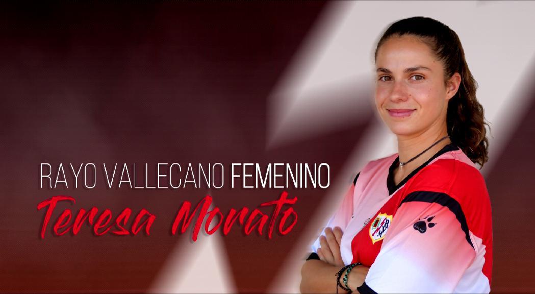 Tere Morató jugarà a primera amb el Rayo Vallecano