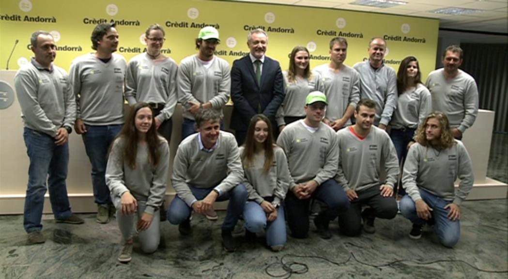 Tissot vol millorar la part esportiva de l'esquí estudi i treballar amb els joves abans de fer el salt a FIS
