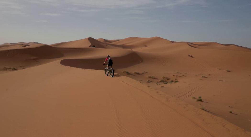 La Titan Desert virtual també té color andorrà, gràcies a Marta Ballús
