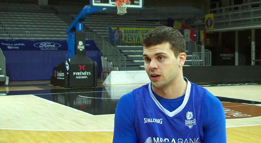 Todorovic busca guanyar regularitat i veu força marge de millora al MoraBanc