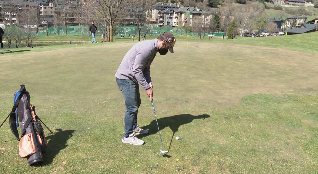 Toni Armengol s'adjudica la primera prova del Rànquing d'Andorra de Pitch and Putt