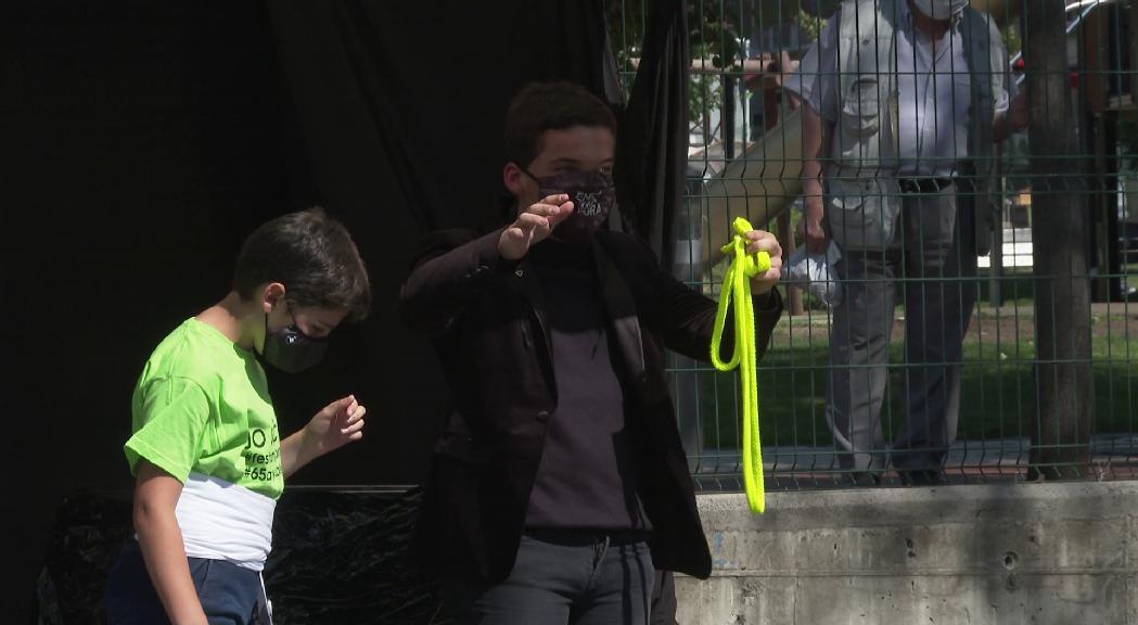 Toni Zamora porta la màgia a Escaldes-Engordany