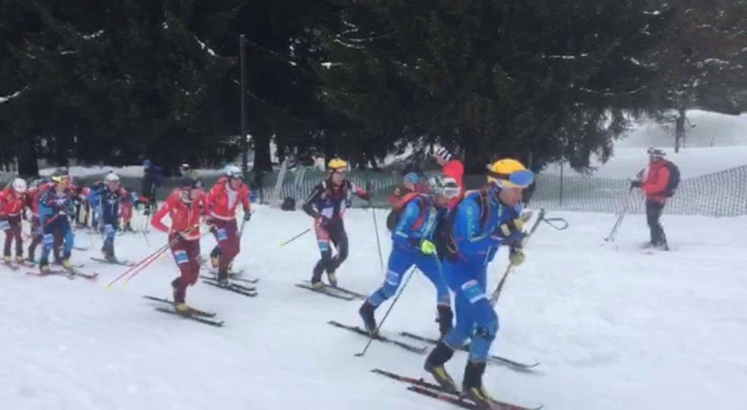 Top-15 de l'equip andorrà d'esquí de muntanya al Campionat del Món